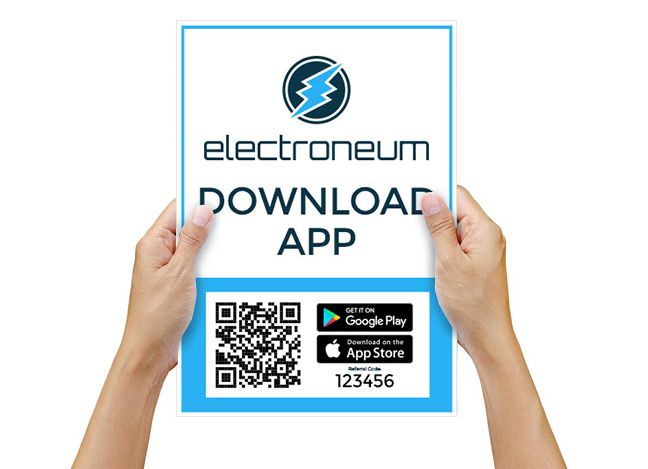 Download App QR-code Electroneum/ETN