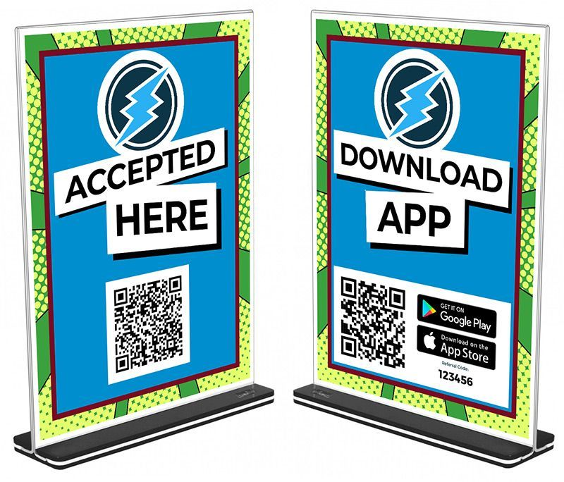 Download App Sign QR-Code Electroneum